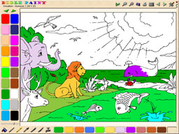 BiblePaint Coloring Book